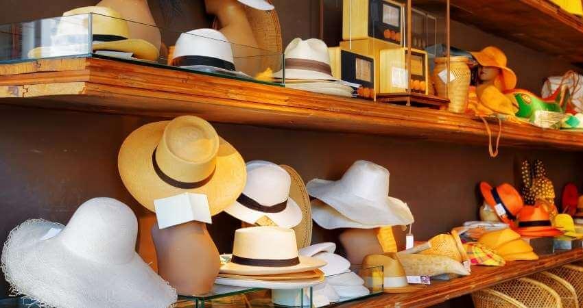 たくさんの帽子
