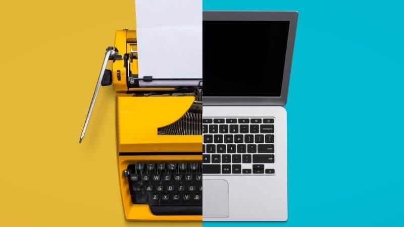 パソコンとワープロの比較