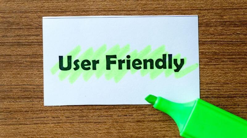 UserFriendlyが緑の蛍光ペンで塗られている